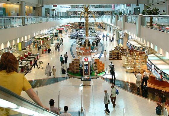 Dubai duty free shopping
