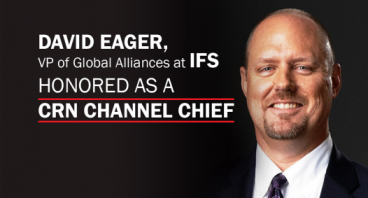 David Eager Channel Chief 2016