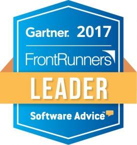 Gartner FrontRunners Leader 2017